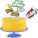 Набор украшений для торта Comic cake