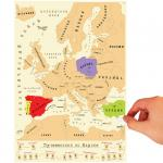 "Карта ""Галопом по Европам"""