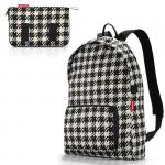Рюкзак складной Mini maxi fifties black