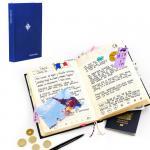 Журнал путешественника My travel синий