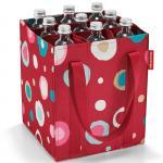 Reisenthel Сумка-органайзер для бутылок Bottlebag funky dots 2 арт. ZJ3048