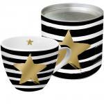 Кружка в подарочной упаковке Star & Stripes с настоящим золотом