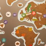 Карта True Map Puzzle (Gold)
