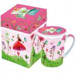 Кружка с крышкой в подарочной коробке Lucky Fairy арт. 602492