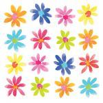 Салфетки Aquarell Flowerfield бумажные 20 шт.