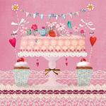Салфетки Lovely Cake бумажные 20 шт.