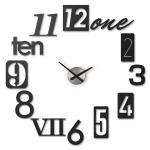 Umbra Часы настенные Numbra черные арт. 118430-040