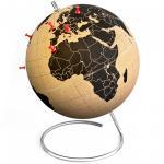 Пробковый глобус для путешественников