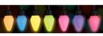 Электрическая разноцветная ударопрочная гирлянда для дома и улицы ( длина 490см, 50 ламп)