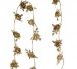 Гирлянда Розочки (золото) 180 см