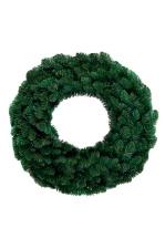 Хвойный венок Горный 60 см (зеленый)