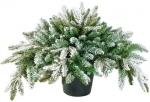 Новогодний декор Мемфис Заснеженный букет в горшке 38 см