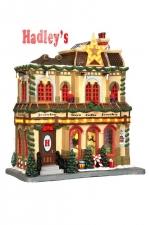 Рождественский универмаг (керамика), с подсветкой, на батарейках арт. о-35496