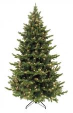Искусственная елка Шервуд Премиум с гирляндой 120 см
