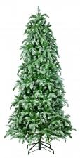 Искусственная елка Нормандия утонченная заснеженная 215 см