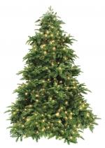 Искусственная елка Нормандия с гирляндой 230 см