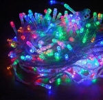 Электрогирлянда 550 LED лампочек, цвет мультиколор, провод 11 метров арт. o-463872