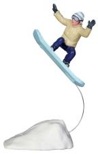 """Фигура """"Сноубордист в прыжке"""" 6*10,2*3,7 см. арт. o-22049"""