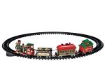 """Железная дорога """"Рождественский экспресс"""" набор из 16 элементов (на бат) арт. o-24472"""