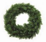 Триумф декор круг Лесная красавица 45 см зеленый