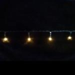 Электрическая гирлянда Luca lights 1440 см (теплый белый) 192 ламп