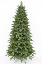 Искусственная ель Шервуд Премиум FULL РЕ 230 см зеленая (100% литая хвоя)