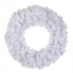 """Декор круг """"Исландская"""" диаметр 45 см, белоснежный"""