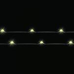Гирлянда теплый свет 20 ламп 190 см