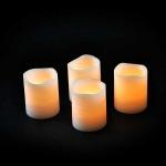 Декор Набор свечей теплый свет 6,5*5 см
