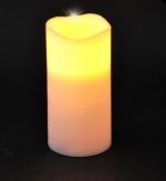 Свеча теплый свет 15*7,5 см